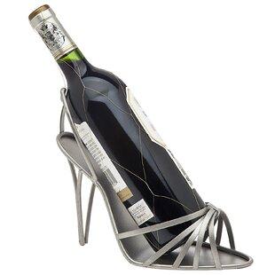 Godinger Silver Art Co High Heel 1 Bottle Tabletop Wine Rack