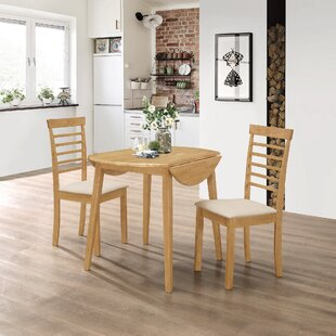 Mcneill Extendable Dining Set With 2 Chairs By Brambly Cottage