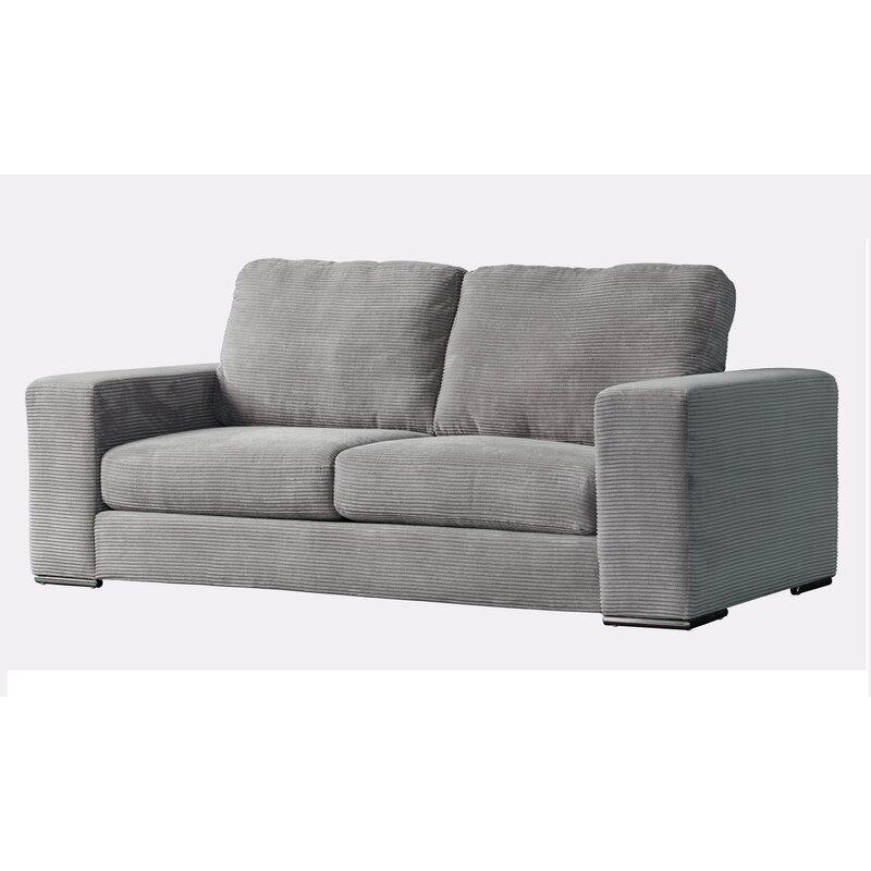 Acanva Clic Modern Corduroy Sofa