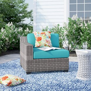 Falmouth Right Arm Patio Chair with Cushions by Sol 72 Outdoor
