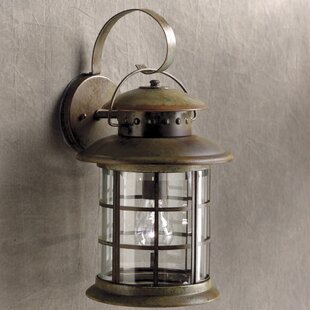 Affordable May 1-Light Outdoor Wall Lantern By Longshore Tides