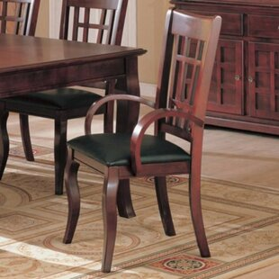 Ovard Sturdy Wood Upholstered Dining Chai..