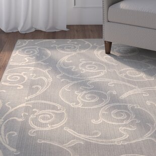 Alberty Gray/Natural Indoor/Outdoor Rug