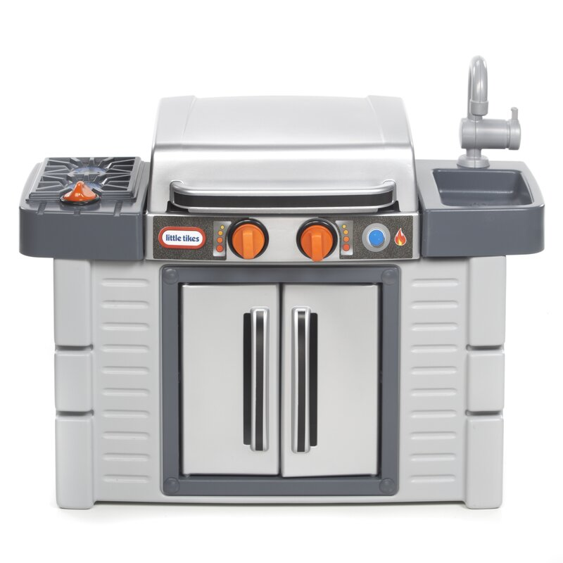 Little Tikes Cook \'n Grow™ BBQ Grill Kitchen Set & Reviews | Wayfair