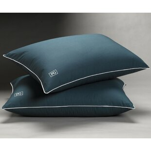 MicronOne Technology Firm Down Alternative Pillow (Set of 2)