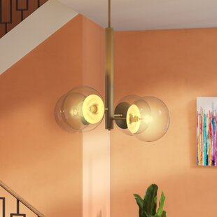 Cissell Mid Century 4-Light Chandelier