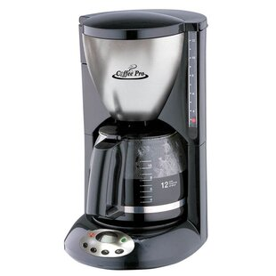 12-Cup Euro Drip Coffee Maker