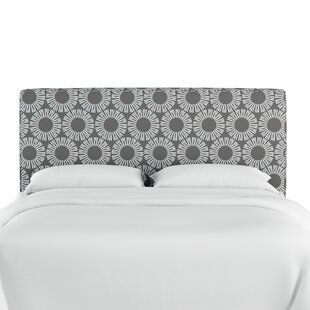 Compare Edford Medallion Upholstered Panel Headboard by Wrought Studio