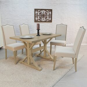 Pendergrass 5 Piece Dining Set by One Allium Way