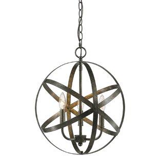 Emmaline 3-Light Globe Cha..