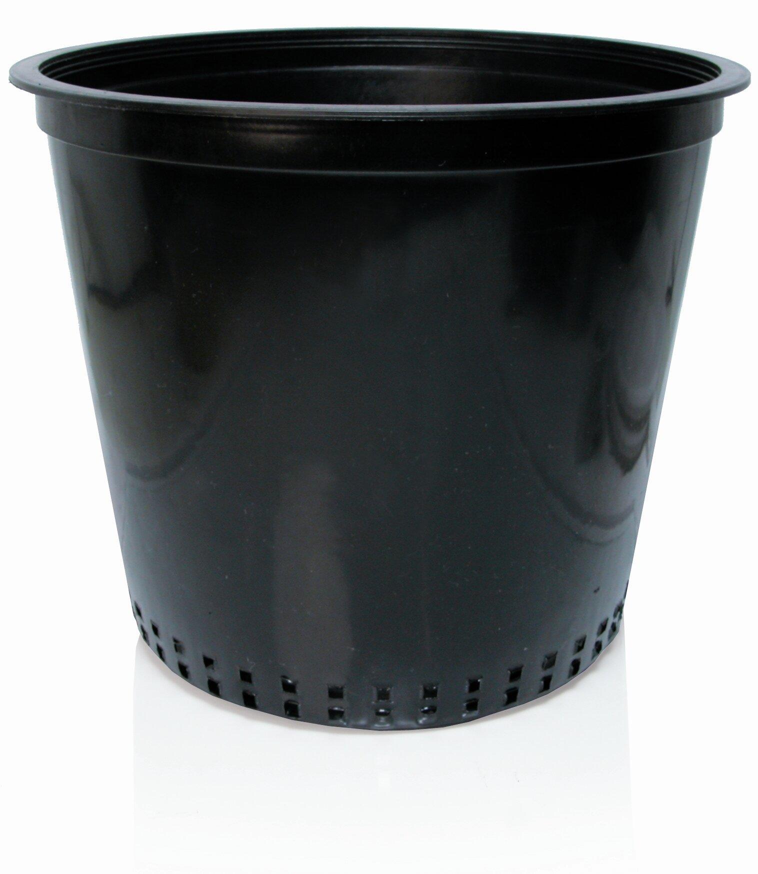 Hydrofarm Plastic Nursery Pot Wayfair