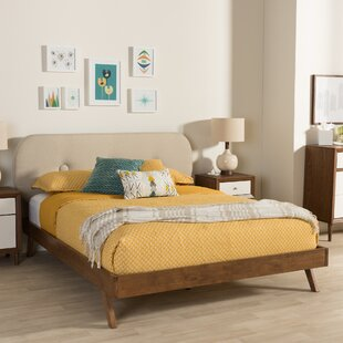 Wholesale Interiors Elenora Upholstered Platform Bed