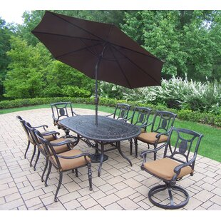 Oakland Living Victoria 9 Piece Dining Se..