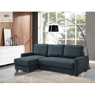 Lancaster Reversible Sleeper Sectional by Serta Futons
