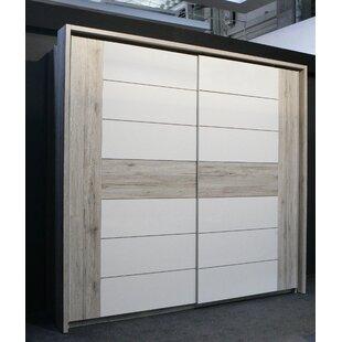 Dilsey 2 Door Sliding Wardrobe By Ebern Designs