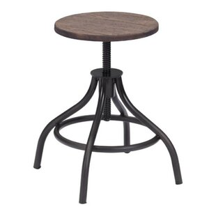 Kamryn Adjustable Height Bar Stool 17 Stories