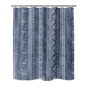Union Rustic Couturier Woven Shower Curtain