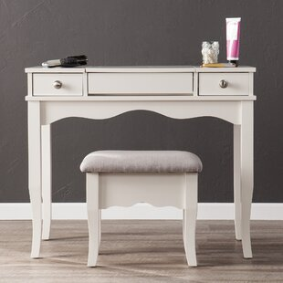 Find the perfect Brinson Vanity and Bench Set ByCharlton Home