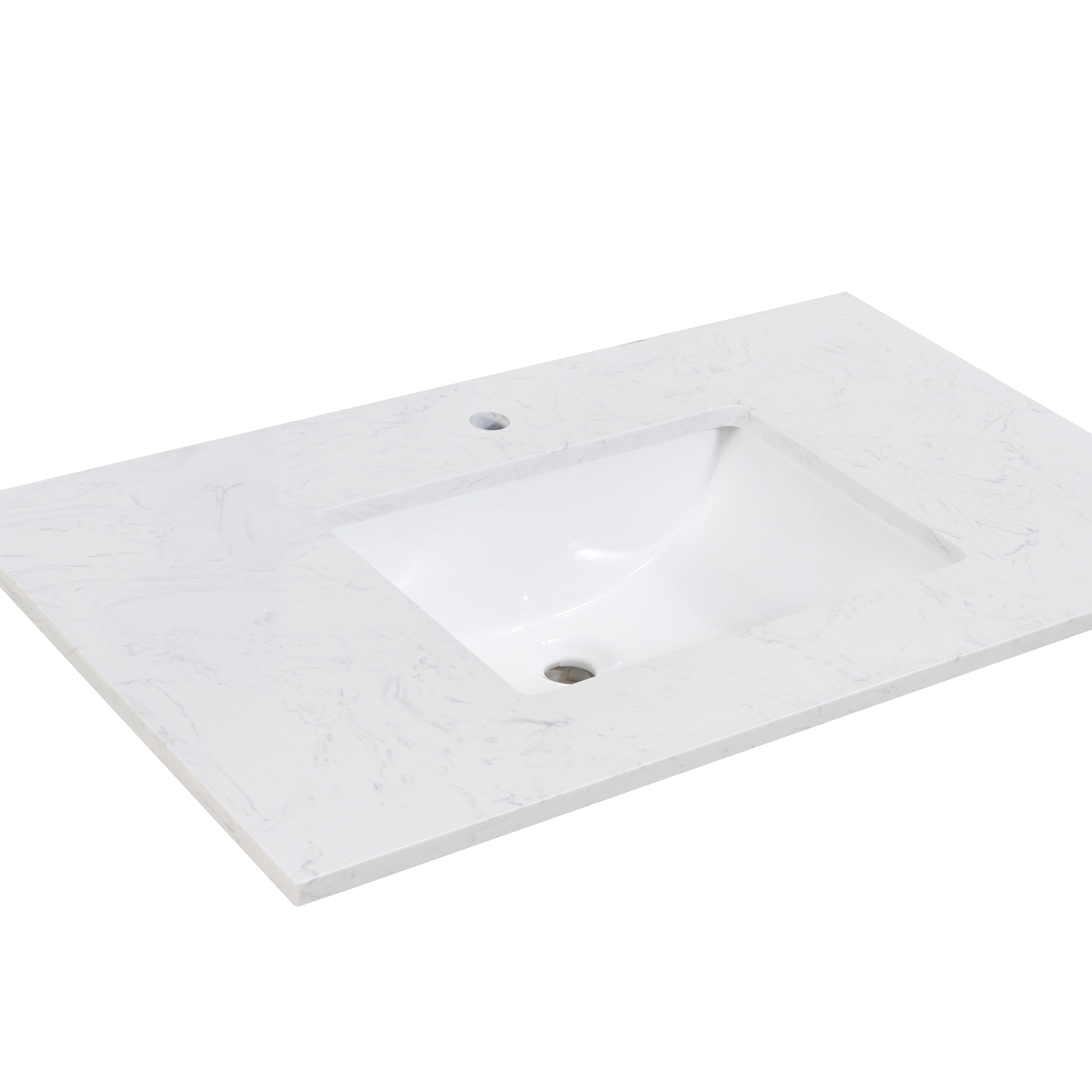 37 Inch Sink Vanity Tops You Ll Love In 2021 Wayfair