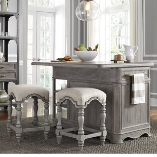 Artrip 3 Piece Kitchen Island Set by One Allium Way Top Reviews
