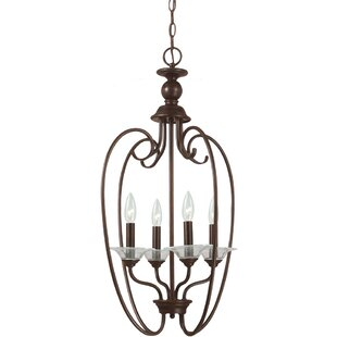 Darby Home Co Verndale 4-Light Foyer Pendant