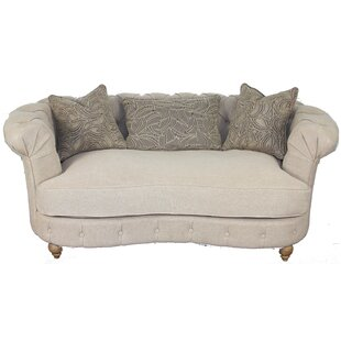 House of Hampton Wigfall Chesterfield Loveseat