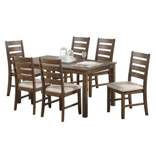 Bayle 7 Piece Dining Set DarHome Co