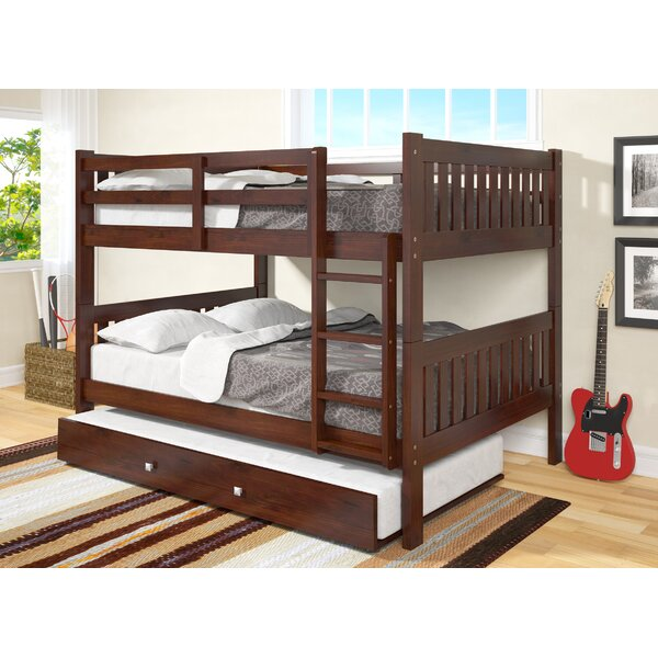 Favorite Harriet Bee Hargrave Full over Full Bunk Bed with Trundle  OX52