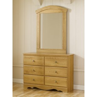 Oak Creek 6 Drawer Double Dresser