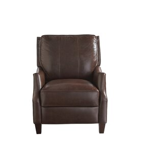 Rochelle Leather Recliner by Canora Grey