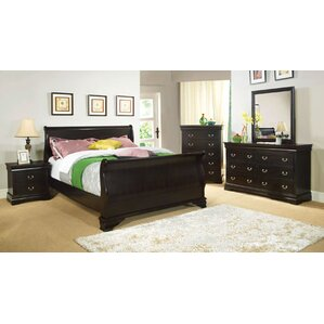 Dinah Sleigh Bed by Darby Home Co