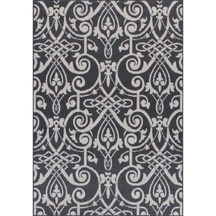 Ruff Weather-Proof Gray Indoor/Outdoor Area Rug