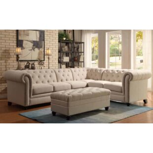 Darby Home Co Claudelle 3 Piece Living Ro..