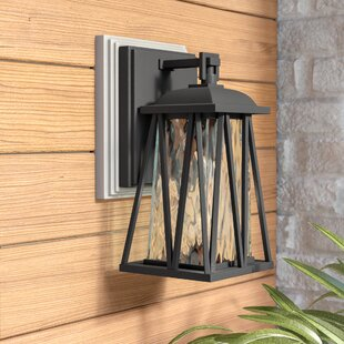 Find Adeline Outdoor Wall Lantern By Ivy Bronx