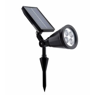 ALEKO Solar Powered 4 Light LED Pathway Light
