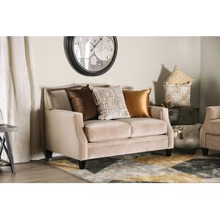 Nicki Loveseat by Canora Grey Fresh