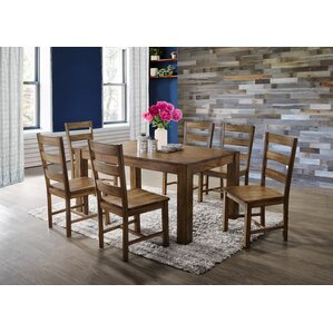 Berkshire 7 Piece Dining Set by World Menagerie