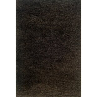 Mazon Tweed Brown/Black Area Rug byRed Barrel Studio
