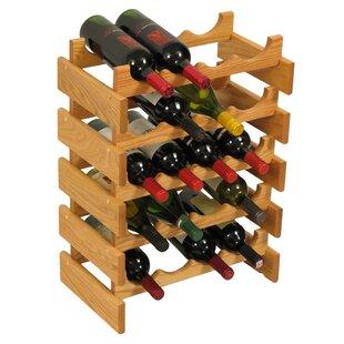 Dakota 20 Bottle Floor Wine Rack by Woode..