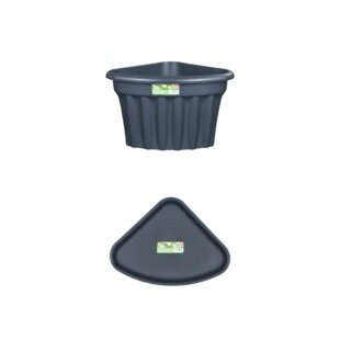 Roger 2 Piece Plastic Cachepot Set By Sol 72 Outdoor
