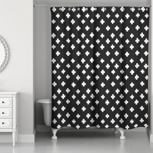 Principato Swiss Cross Single Shower Curtain