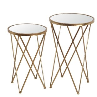 Poulsbo 2 Piece Nesting Tables by House of Hampton