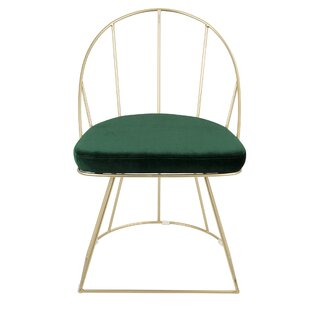 Everly Quinn Lystra Upholstered Dining Chair (Set of 2)
