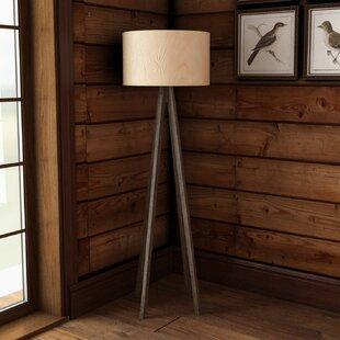 Read Reviews Pikes Peak 57.5 Tripod Floor Lamp By Loon Peak