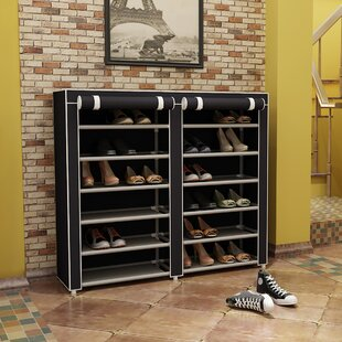 Best Reviews Shoe Rack By Rebrilliant
