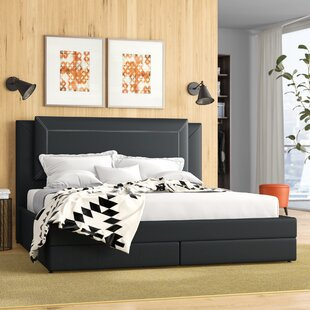Rosana Upholstered Storage Platform Bed by Latitude Run