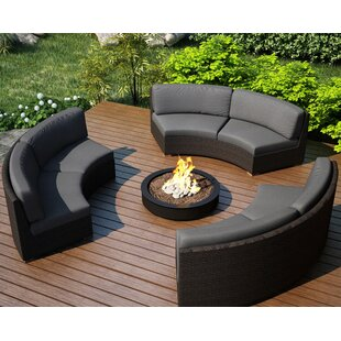 Hodge Patio Sectional with Sunbrella Cushions