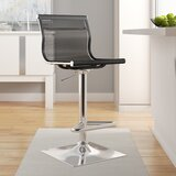Bartow Swivel Adjustable Height Stool by Wade Logan®