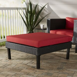 Breakwater Bay Zoar Ottoman with Cushion