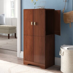 Red Barrel Studio Busch Jewelry Armoire with Mirror